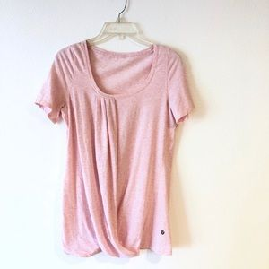 Lululemon pink faux wrap top 6
